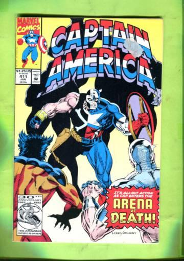 Captain America Vol. 1 #411 Jan 93