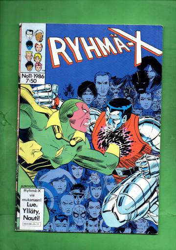 Ryhmä-X 11/86 (X-Men)