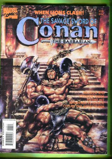 The Savage Sword of Conan the Barbarian Vol 1 #228  Dec 94