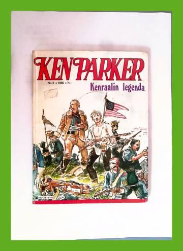 Ken Parker 2/85 - Kenraalin legenda