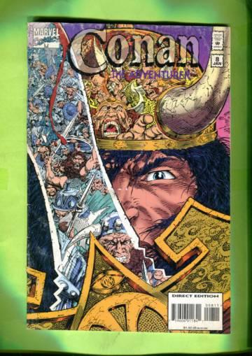 Conan the Adventurer #8 Jan 95