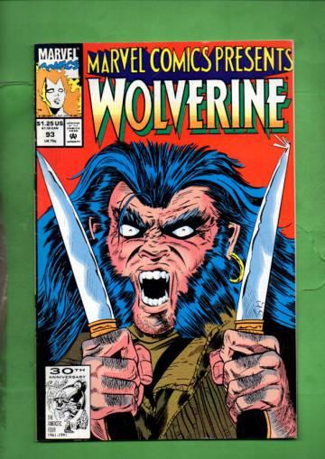 Marvel Comics Presents Vol. 1 #93 91