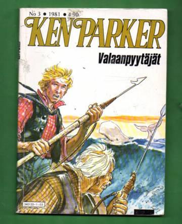 Ken Parker 3/81 - Valaanpyytäjät