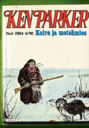 Ken Parker 1/84 - Koira ja metsämies