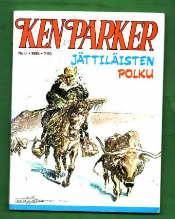 Ken Parker 5/85 - Jättiläisten polku