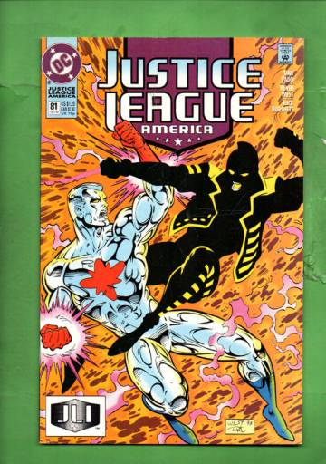 Justice League America #81 Oct 93