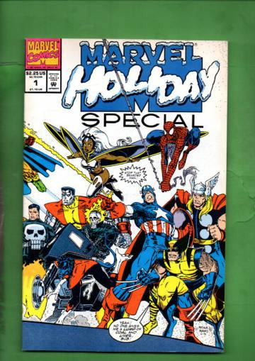 Marvel Holiday Special #1 91