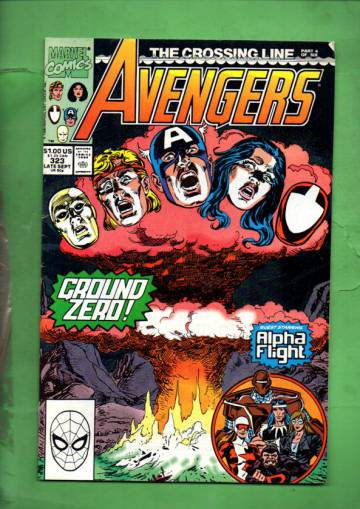 The Avengers Vol 1 # 323  Late Sep 90