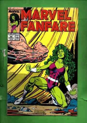 Marvel Fanfare Vol. 1 #48 Mid Dec 89