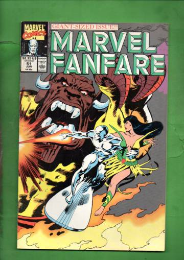 Marvel Fanfare Vol. 1 #51 Jun 90