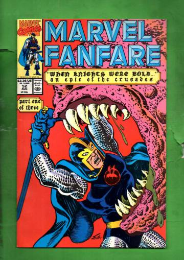 Marvel Fanfare Vol. 1 #52 Aug 90