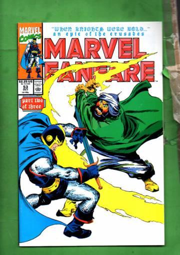 Marvel Fanfare Vol. 1 #53 Oct 90