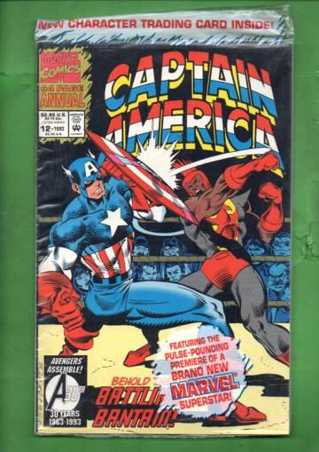 Captain America Annual Vol 1 #12 93