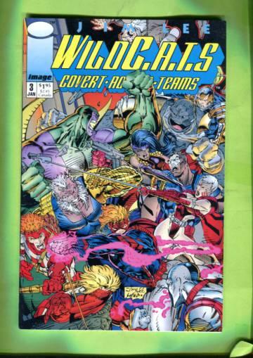 WildC.A.T.S: Covert Action Teams 3 (of 4) Dec 92