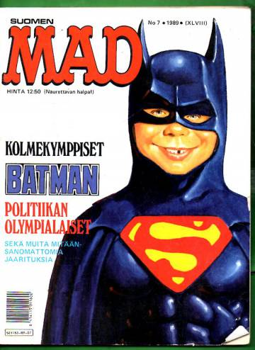 Suomen Mad 7/89