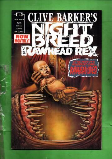 Clive Barker's Night Breed Vol. 1 #15 May 92