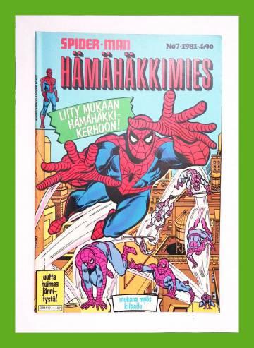 Hämähäkkimies 7/81 (Spider-Man)