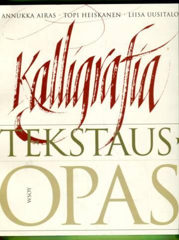 Kalligrafia - Tekstausopas