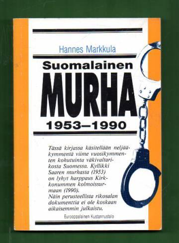 Suomalainen murha 1953-1990