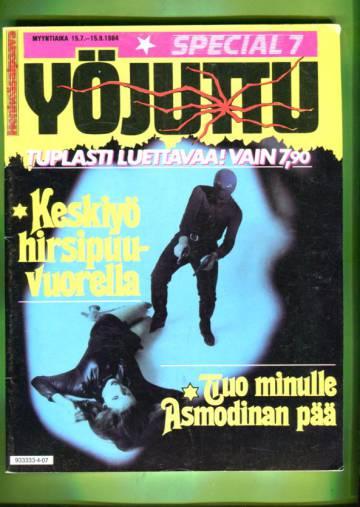 Yöjuttu - Special 7/84: Keskiyö hirsipuuvuorella / Tuo minulle Asmodinan pää