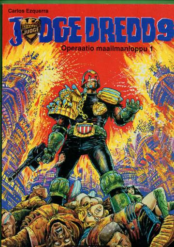 Judge Dredd 9 - Operaatio Maailmanloppu 1