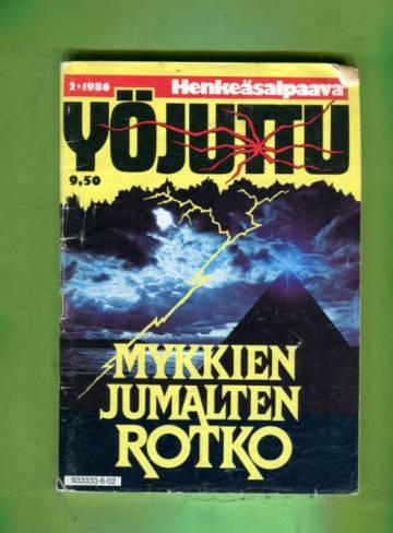 Yöjuttu 2/86 - Mykkien jumalten rotko