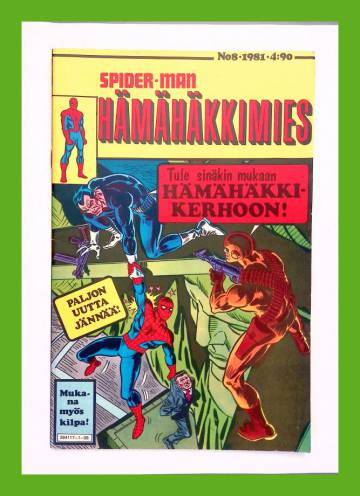 Hämähäkkimies 8/81 (Spider-Man)