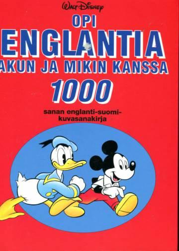 Opi englantia Akun ja Mikin kanssa - 1000 sanan englanti-suomi-kuvasanakirja