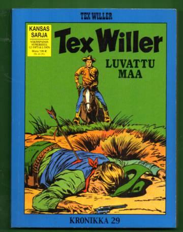 Tex Willer -kronikka 29 - Luvattu maa & Cheyennit