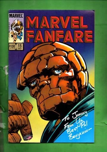 Marvel Fanfare Vol. 1 #15 Jul 84