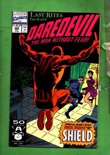 Daredevil Vol. 1 #298 Nov 91