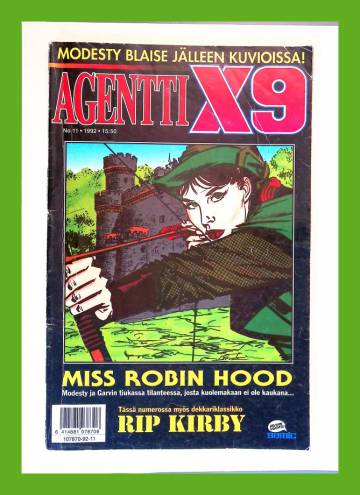 Agentti X9 11/92 (Modesty Blaise)