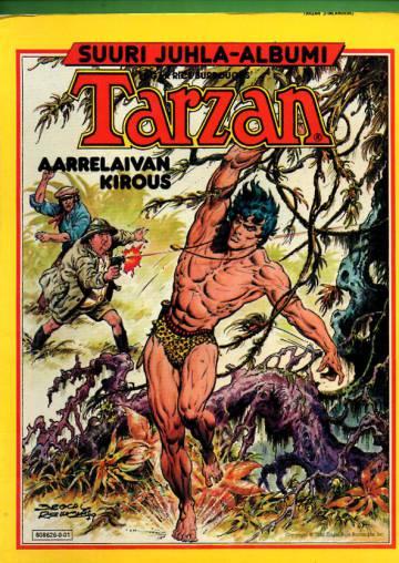 Tarzanin juhla-albumi 1980 - Aarrelaivan kirous
