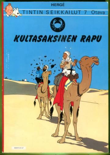 Tintin seikkailut 7 - Kultasaksinen rapu
