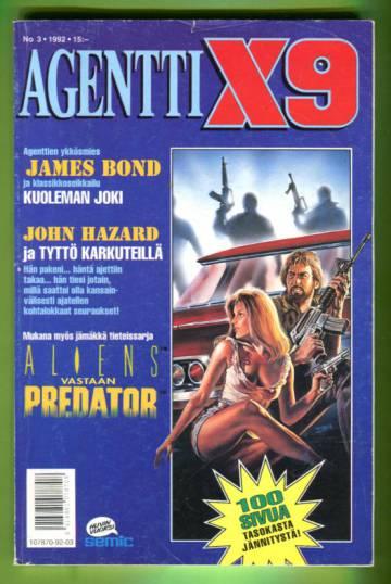 Agentti X9 3/92