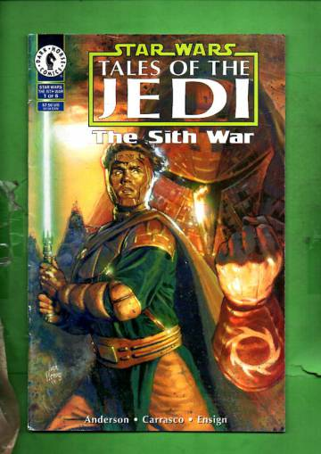 Star Wars: Tales of the Jedi - The Sith War #1 (of 6) Aug 95