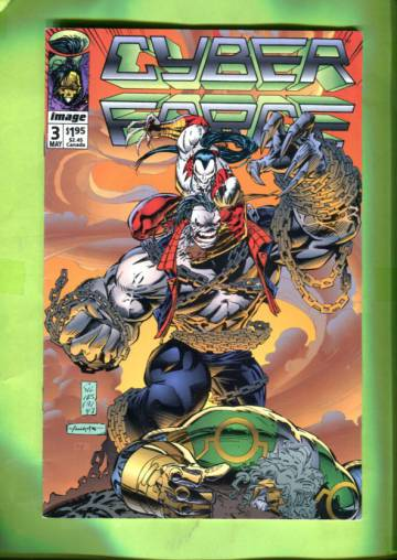 CyberForce #3 (of 4) May 93
