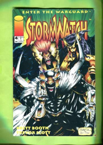 StormWatch #4 Oct 93