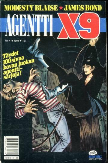 Agentti X9 4/91 (Modesty Blaise)