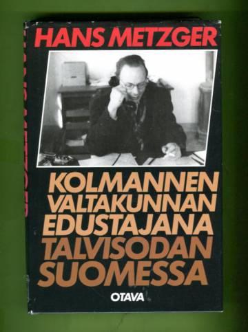 Kolmannen valtakunnan edustajana talvisodan Suomessa
