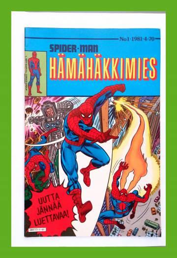 Hämähäkkimies 1/81 (Spider-Man)