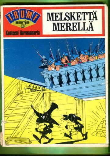 Trumf-sarja 3 - Kapteeni Harmaaparta: Melskettä merellä