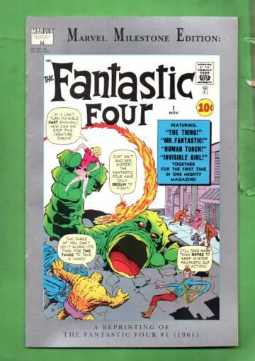 Marvel Milestone Edition: The Fantastic Four Vol 1 #1 Nov 91