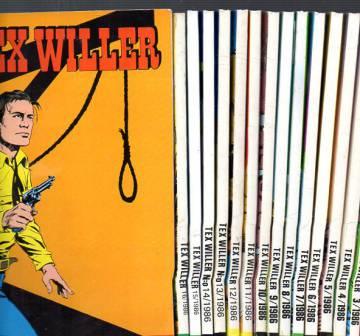 Tex Willer -vuosikerta 1986 (1-16)