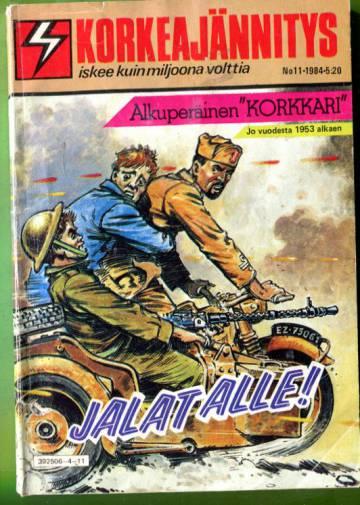 Korkeajännitys 11/84 - Jalat alle!