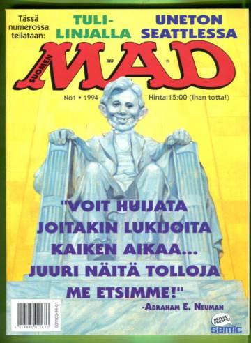 Suomen Mad 1/94 +LIITE
