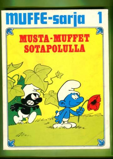 Muffe-sarja 1 - Musta-muffet sotapolulla & Lentävä muffe (Smurffit)