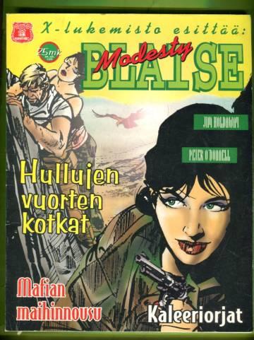 X-lukemisto esittää 3/96 - Modesty Blaise