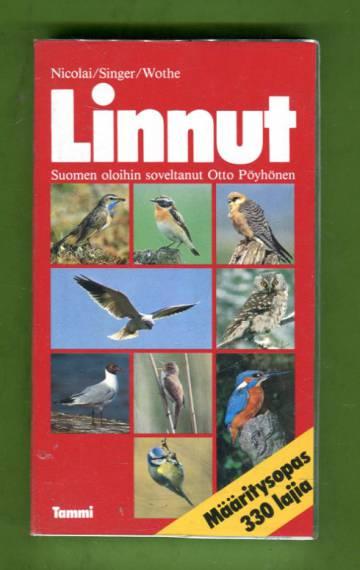 Linnut - Määritysopas: 330 lajia