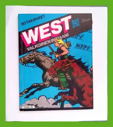West - Valkoinen intiaani 6/81 - Sotakirveet